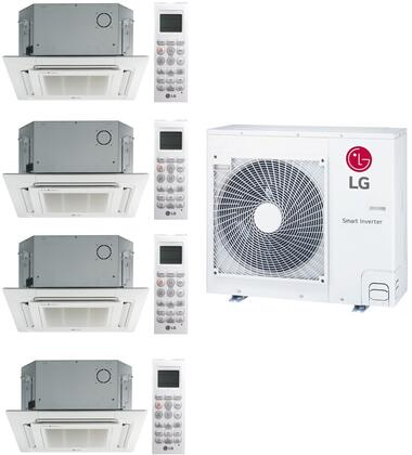 LG 963063 Quad-Zone Mini Split Air Conditioner, Main Image