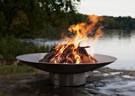 BELLA VITA46-FPA-MLS120-LP 46″ Fire Pit with 120K BTU Brass Burner  and Match Lit Ignition System – Liquid
