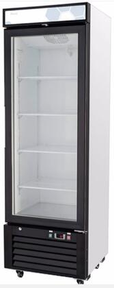 Migali Competitor C12RMHC Display and Merchandising Refrigerator Black, Main Image