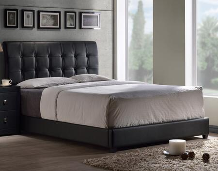 Hillsdale Furniture Lusso 1281BXR Bed Black, 1