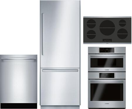 Bosch Benchmark  1132526 Kitchen Appliance Package Stainless Steel, Main image