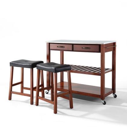 Crosley Furniture  KF300524CH Kitchen Cart Brown, KF300524CH W1