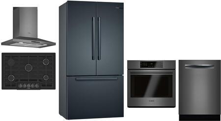 Bosch 1124930 Kitchen Appliance Package & Bundle Black Stainless Steel, Main Image
