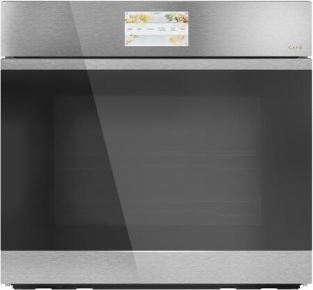 Cafe Minimal CTS90DM2NS5 Single Wall Oven Platinum, Main Image