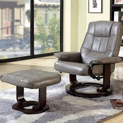 Furniture of America Cheste CMRC6920GY Accent Chair , image 2255