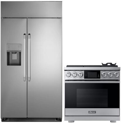 Dacor  1076244 Kitchen Appliance Package Stainless Steel, main image