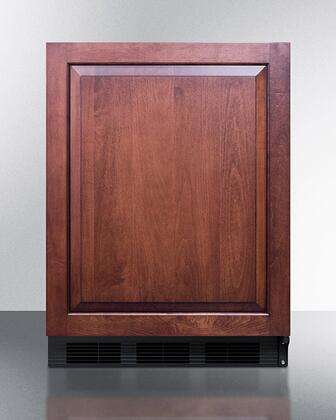 Summit  FF63BKBIIF Compact Refrigerator Panel Ready, FF63BKBIIF All Refrigerator