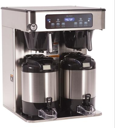 53200.0100 ICB Infusion Series BrewWise TWIN Automatic Coffee Brewer (Servers Sold