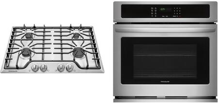 Frigidaire  850204 Kitchen Appliance Package Stainless Steel, 1