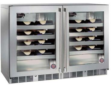 Perlick Signature 1443869 Wine Cooler 26-50 Bottles Stainless Steel, 1