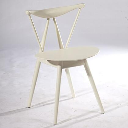 Fine Mod Imports Fronter FMI10034WHITE Dining Room Chair, 1