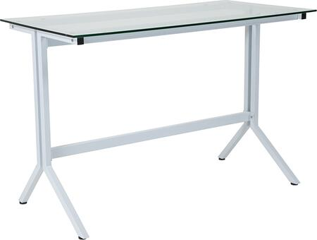 Flash Furniture Winfield NANJN21719DWGG Desk White, 1
