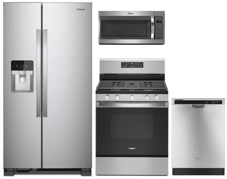Whirlpool  913600 Kitchen Appliance Package Stainless Steel, main image