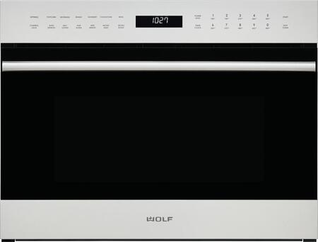 Wolf E Series SPO24TESTH Single Wall Oven Stainless Steel, Main Image