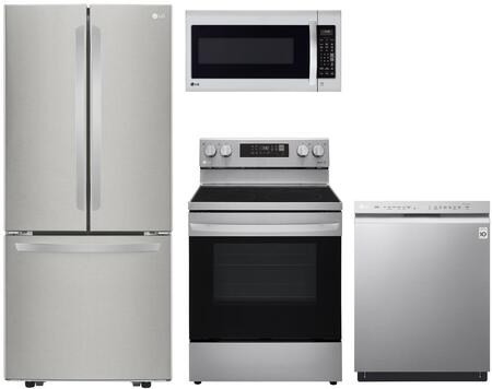 LG  1240042 Kitchen Appliance Package Stainless Steel, Main image