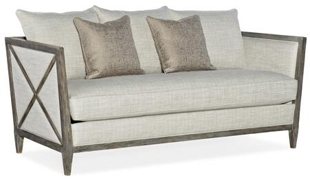 Hooker Furniture Sanctuary 2 58655200495 Stationary Sofa Beige, Silo Image