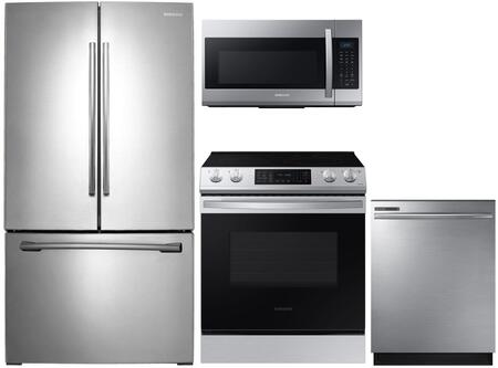 Samsung  1125320 Kitchen Appliance Package Stainless Steel, main image