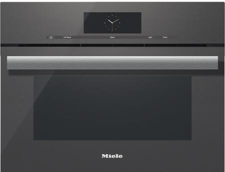 Miele M Touch DGC68001XLGRGR Single Wall Oven Slate, Main Image