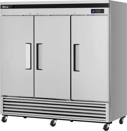 TSR-72SD-N 82″ Super Deluxe Series Solid Door Bottom Mount Reach-In Refrigerator with 64.1 cu. ft. Capacity  Self-Cleaning Condenser and Hydrocarbon