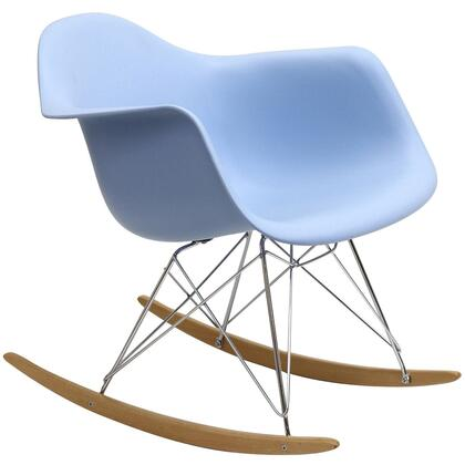 Modway Rocker EEI147BLU Rocking Chair Blue, 1