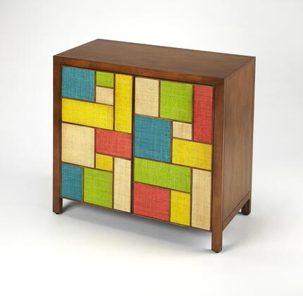 Composition Collection 3781140 Console Cabinet with Modern Style  Rectangular Shape and Solid Wood in Butler Loft