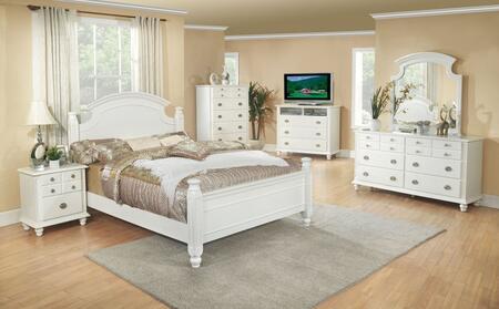 Glory Furniture G5975 G5975AKBDMNCMC Bedroom Set White, Main View