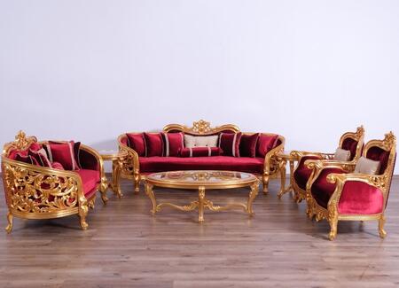 European Furniture 30015slc Vintage, Bellagio Furniture Collection