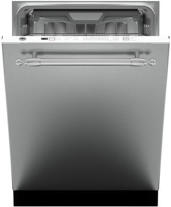 Bertazzoni  DW24XT Built-In Dishwasher Stainless Steel, DW24XT Professional Series Handle