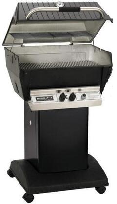 24″ Deluxe Series Freestanding Grill with 473 sq. in. Grilling Surface  36 000 BTU Total Heat Output  H-Style Burners  2-piece Stainless Steel