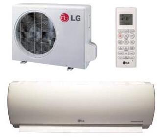LG Art Cool Premier LA120HYV Single-Zone Mini Split Air Conditioner White, Main Image