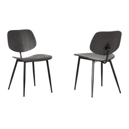 Armen Living Miki LCMKSIBL Dining Room Chair Black, LCMKSIBL set