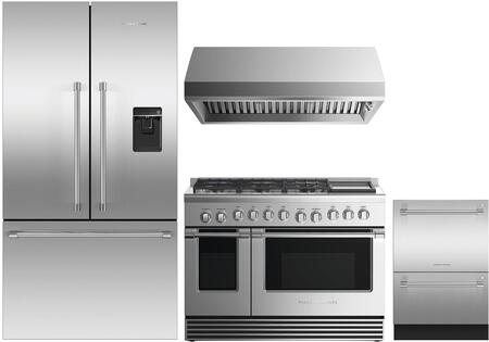 Fisher Paykel 1125242 Kitchen Appliance Package & Bundle Stainless Steel, main image