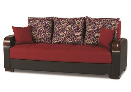 Casamode Mobimax MOBIMAXSOFABEDRED21440 Sofa Bed Red, Main Image