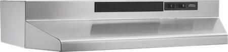 Broan  F402404 Under Cabinet Hood Stainless Steel, Main Image
