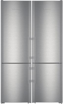 Liebherr  842947 Refrigerator Pairs Stainless Steel, Main Image