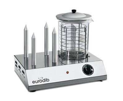 Eurodib HOTDOG Commercial Hot Dog Steamer, Eurodib HOT DOG Bunn Warmer