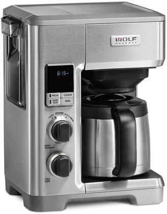 Wolf WGCM110S Coffee and Espresso Maker, WGCM110S Programmable Coffee System