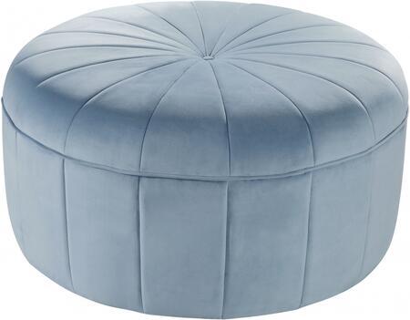 Meridian Tao Series 140SKYBLU Living Room Ottoman Blue, Main Image