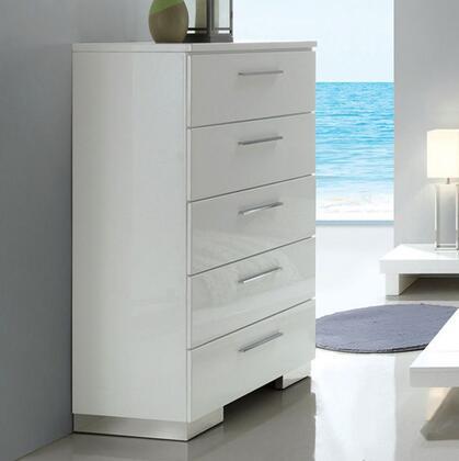 Furniture of America Christie CM7550C Chest of Drawer White, CM7550C