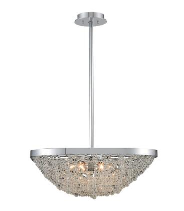 Lana 032450-010-FR001 21″ Pendant in Chrome Finish with Firenze