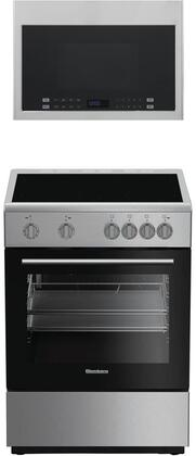 Blomberg  850927 Kitchen Appliance Package Stainless Steel, main image