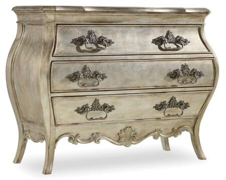 Hooker Furniture Sanctuary 541390017 Chest of Drawer Silver, Main Image