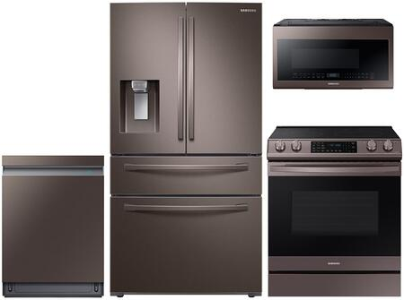 Samsung  1050144 Kitchen Appliance Package Tuscan Stainless Steel, Main Image