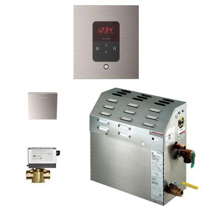 Mr. Steam iTempo Generator Package 150C1ATSQBN Shower Accessory, 150C1ATSQBN