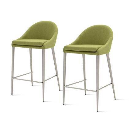 448527-LI-BS Zane Fabric Counter Stool Set of 2  in