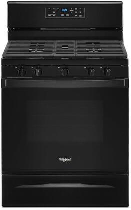 Whirlpool  WFG525S0JB Freestanding Gas Range Black, WFG525S0JB Gas Range
