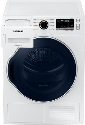 Samsung DV22N6800HW Electric Dryer White, Main Image