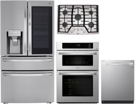 LG  1471751 Kitchen Appliance Package Stainless Steel, main image