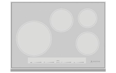 Hestan  KIC30MS Induction Cooktop Silver, 1