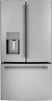 Cafe Customizable Professional Collection CFE26KP2NS1 French Door Refrigerator Stainless Steel, CFE26KP2NS1 Main Image